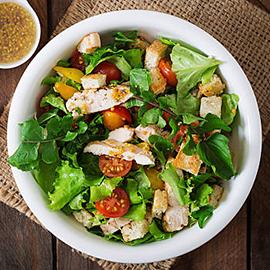 Menu express salade